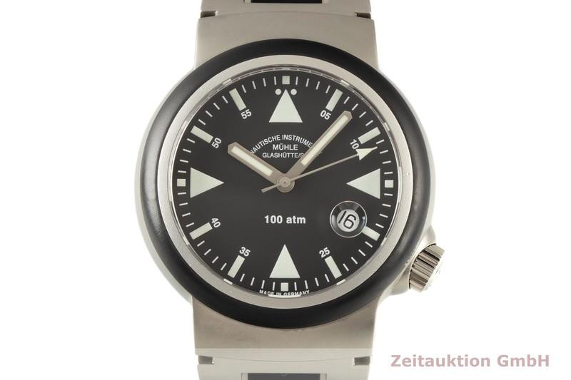 gebrauchte Luxusuhr Mühle Rescue Timer Stahl Automatik Ref. M1-41-03  | 2006326 _0