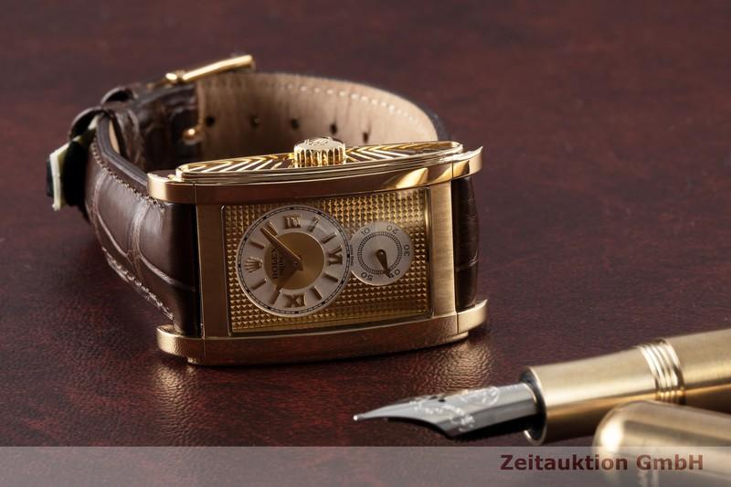 gebrauchte Luxusuhr Rolex Cellini 18k Gold Handaufzug Kal. 7040-1 Ref. 5440  | 2006336 _0