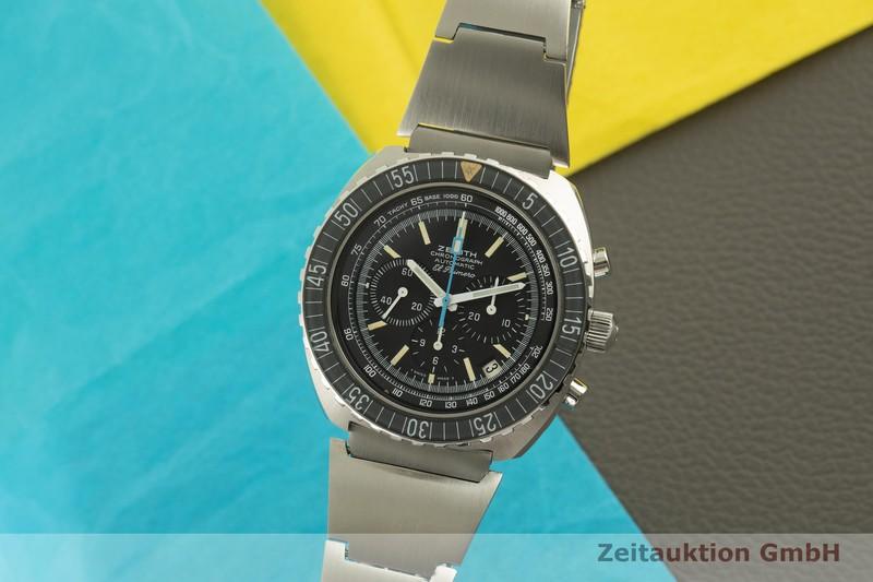 gebrauchte Luxusuhr Zenith El Primero Chronograph Stahl Automatik Kal. 3019 PHC Ref. 01.0190.415  | 2006339 _0