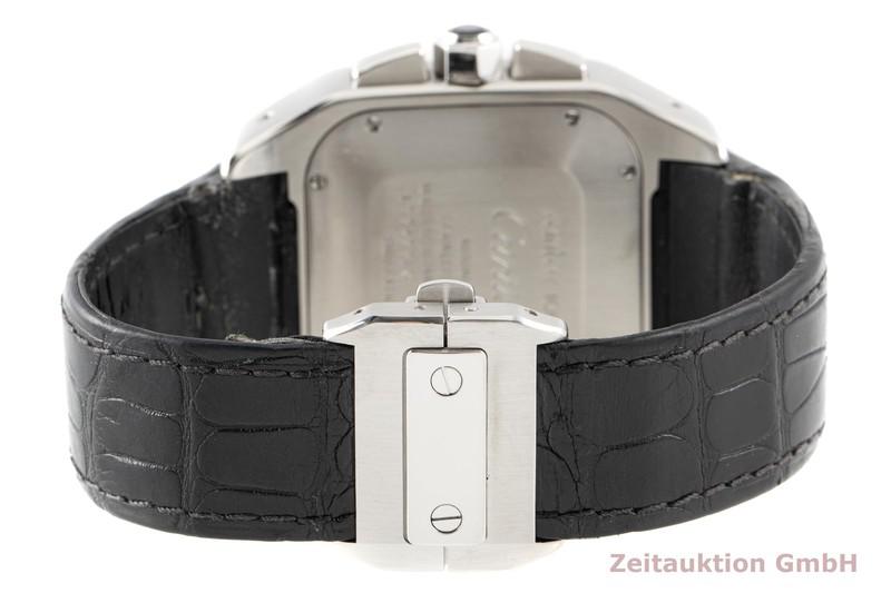 gebrauchte Luxusuhr Cartier Santos 100 Chronograph Stahl Automatik Kal. 8630 Ref. 2740  | 2006343 _1