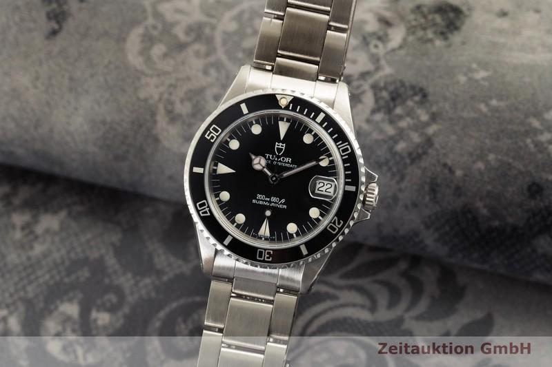 gebrauchte Luxusuhr Tudor Submariner Stahl Automatik Ref. 75090  | 2006345 _0