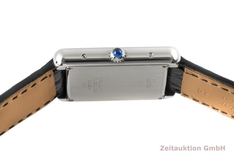 gebrauchte Luxusuhr Cartier Tank Stahl Quarz Kal. 690 Ref. 2715  | 2006351 _1