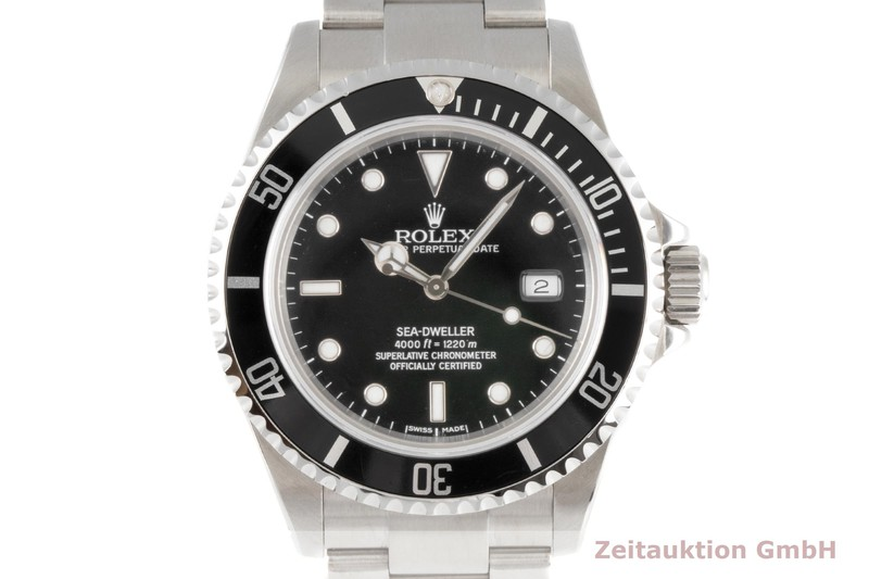 gebrauchte Luxusuhr Rolex Sea Dweller Stahl Automatik Kal. 3135 Ref. 16600  | 2006356 _0