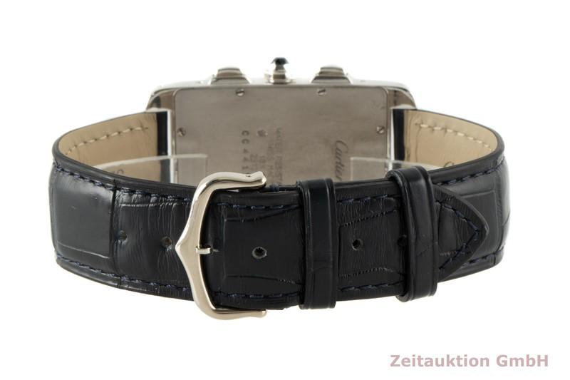gebrauchte Luxusuhr Cartier Tank Américaine Chronograph 18k Weissgold Quarz Kal. 212P Ref. 2312  | 2006368 _1