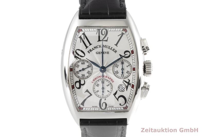 gebrauchte Luxusuhr Franck Muller Casablanca Chronograph Stahl Automatik Kal. FM 7000 C3 Ref. 7880CCAT  | 2006380 _0