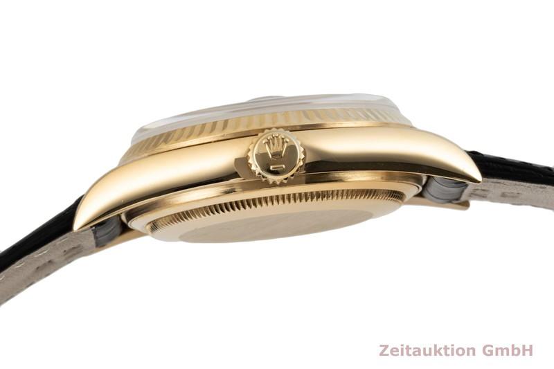 gebrauchte Luxusuhr Rolex Datejust 18k Gold Automatik Kal. 3035 Ref. 16018    2006383 _1