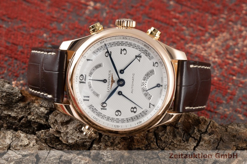 gebrauchte Luxusuhr Longines Master Collection 18k Rotgold Automatik Kal. L698.2 Ref. L2.715.8  | 2006384 _0