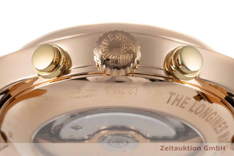 gebrauchte Luxusuhr Longines Master Collection 18k Rotgold Automatik Kal. L698.2 Ref. L2.715.8  | 2006384 _1