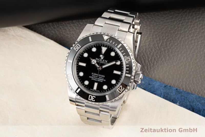 gebrauchte Luxusuhr Rolex Submariner Stahl Automatik Kal. 3130 Ref. 114060  | 2006480 _0