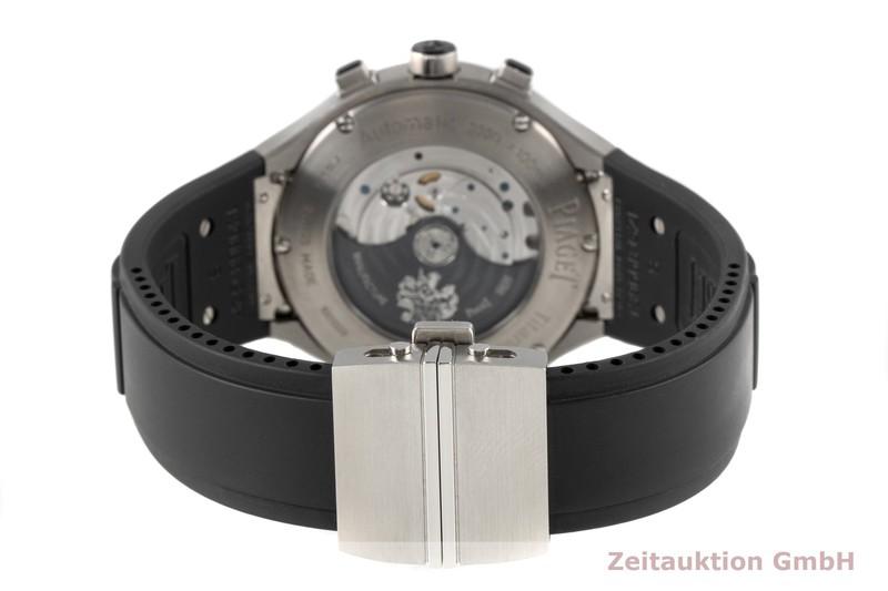 gebrauchte Luxusuhr Piaget Polo Chronograph Stahl / Titan Automatik Kal. 880P Ref. P10534  | 2006490 _1