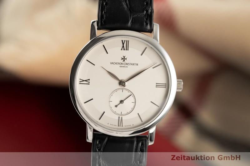 gebrauchte Luxusuhr Vacheron & Constantin Patrimony 18k Weissgold Handaufzug Kal. 1400 Ref. 81160/1  | 2006491 _0