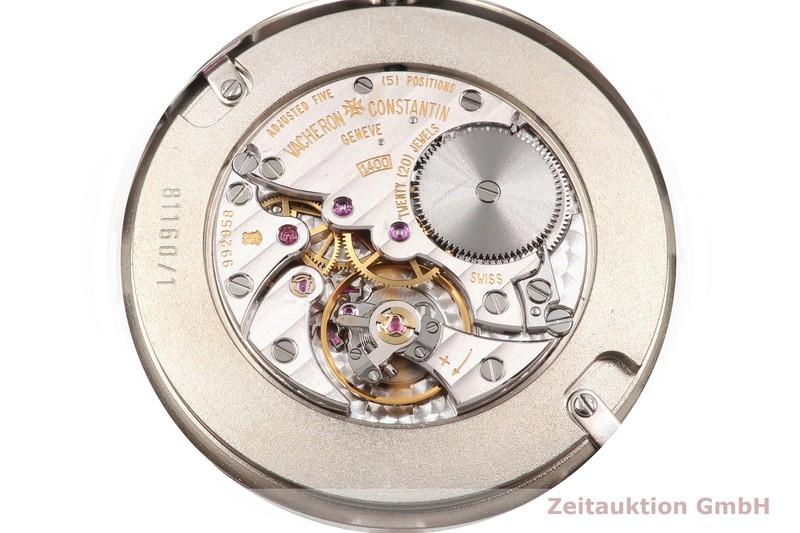gebrauchte Luxusuhr Vacheron & Constantin Patrimony 18k Weissgold Handaufzug Kal. 1400 Ref. 81160/1  | 2006491 _1