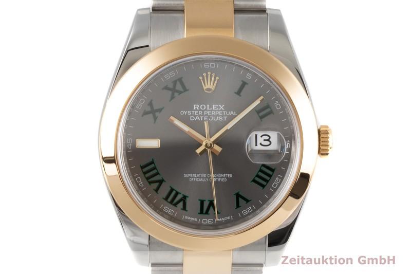 gebrauchte Luxusuhr Rolex Datejust Stahl / Gold Automatik Kal. 3235 Ref. 126303  | 2006499 _0