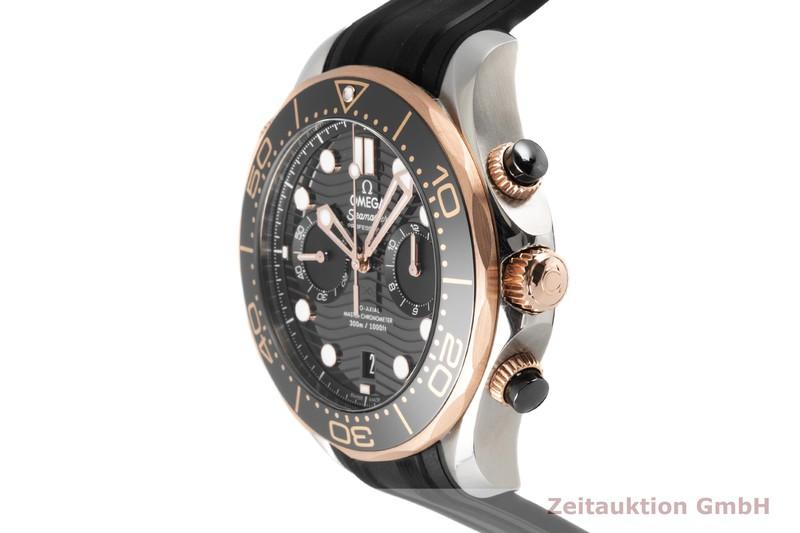 gebrauchte Luxusuhr Omega Seamaster Chronograph Stahl / Gold Automatik Kal. 9900 Ref. 210.22.44.51.01.001  | 2006503 _0