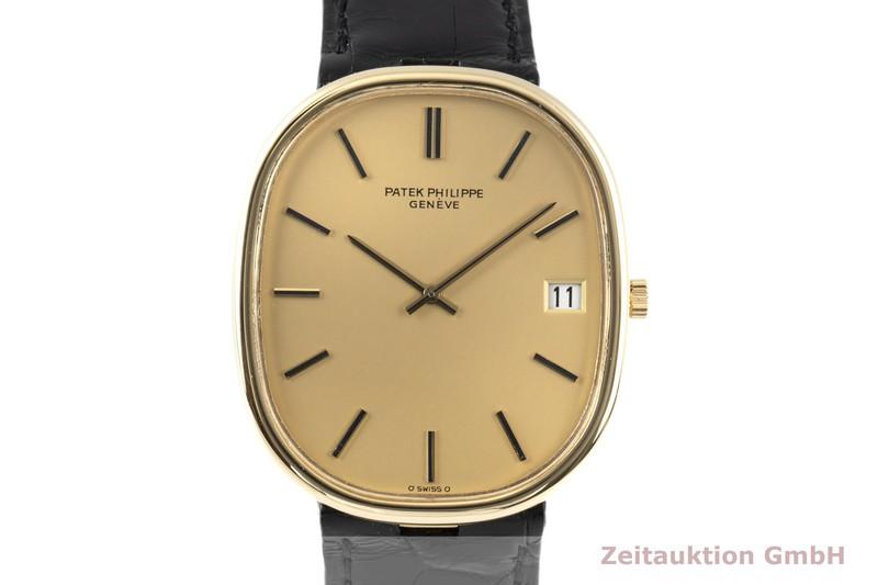 gebrauchte Luxusuhr Patek Philippe Ellipse 18k Gold Automatik Kal. 28-255C Ref. 3605/1    2006513 _0