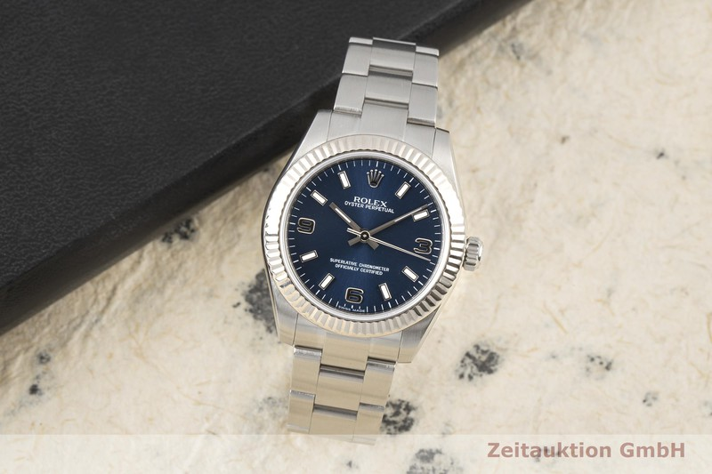 gebrauchte Luxusuhr Rolex Oyster Perpetual Stahl / Weissgold Automatik Kal. 2231 Ref. 177234    2006526 _0