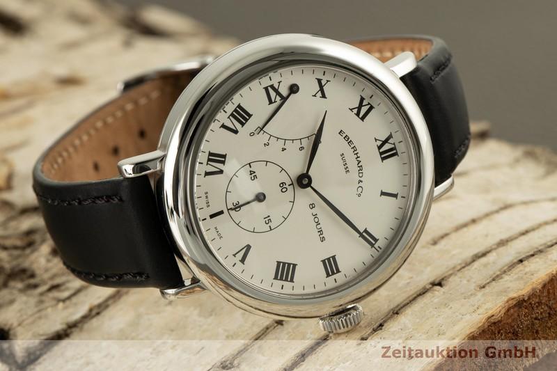 gebrauchte Luxusuhr Eberhard & Co 8 Jours Stahl Handaufzug Kal. 896-1 Ref. 21017    2006538 _0
