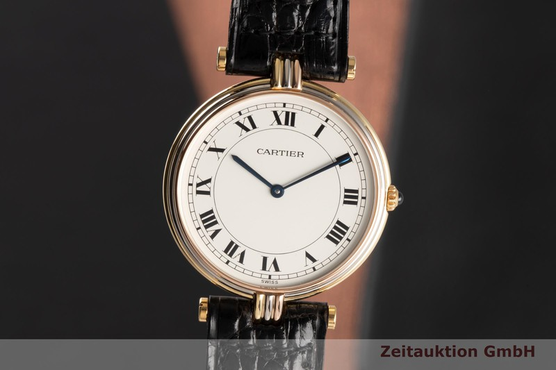 gebrauchte Luxusuhr Cartier Vendome 18k Gold Quarz Kal. 81 Ref. 881003  | 2006544 _0