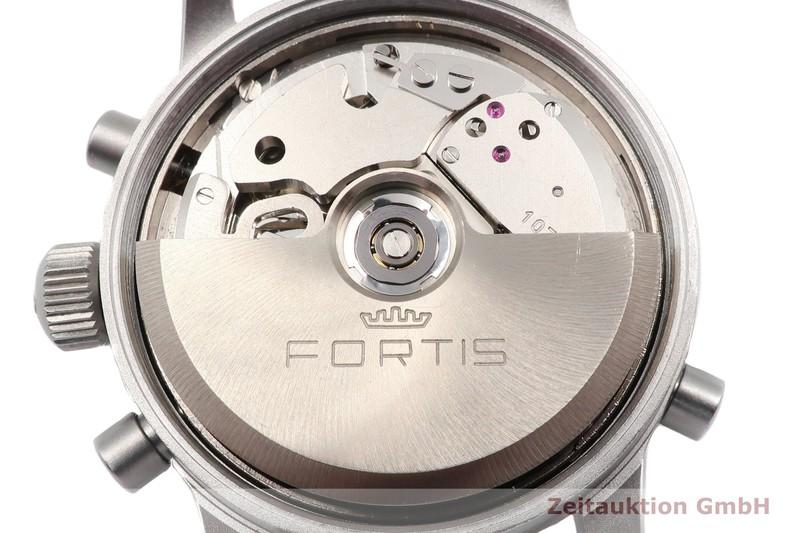 gebrauchte Luxusuhr Fortis Flieger Chronograph Chronograph Stahl Automatik Kal. F 2001 Ref. 599.10.170  | 2006556 _1