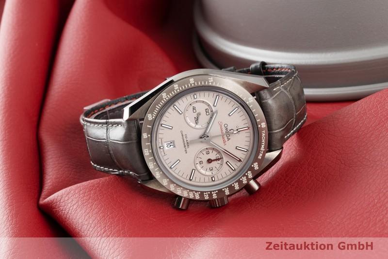 gebrauchte Luxusuhr Omega Speedmaster Chronograph Keramik Automatik Kal. 9300 Ref. 311.93.44.51.99.001  | 2006569 _0