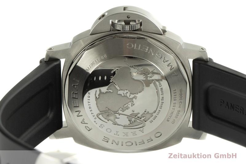 gebrauchte Luxusuhr Panerai Luminor GMT Stahl Automatik Kal. 7750-P2 Ref. OP6606, PAM00186 LIMITED EDITION   2006580 _1
