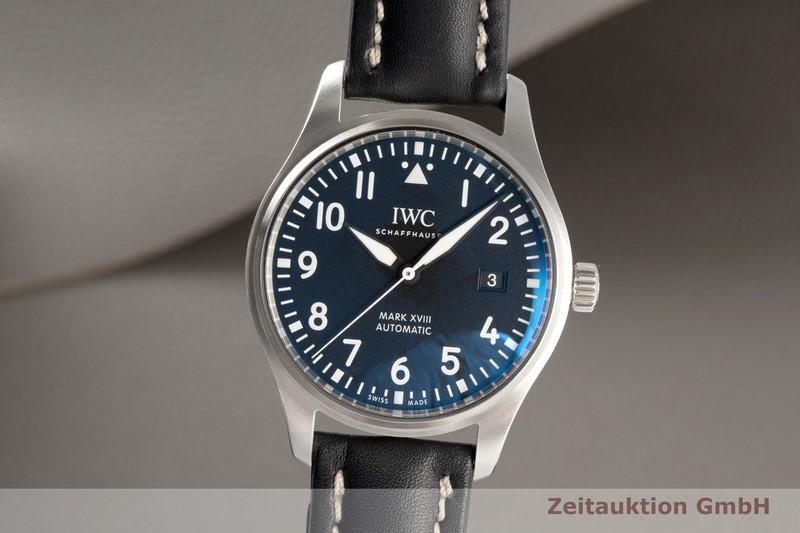 gebrauchte Luxusuhr IWC Mark XVIII Stahl Automatik Kal. 30110 Ref. IW327001, 3270    2006597 _0