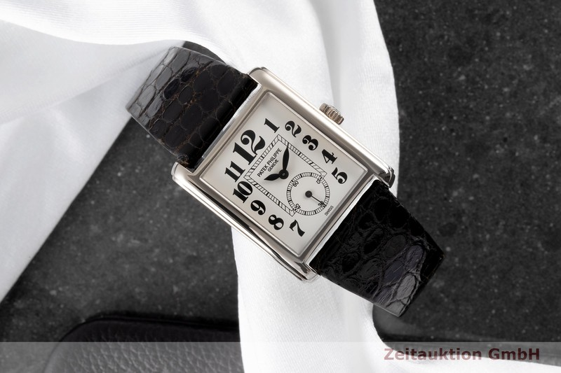 gebrauchte Luxusuhr Patek Philippe Gondolo 18k Gold Handaufzug Kal. 215 Ref. 5014    2006600 _0