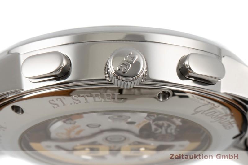 gebrauchte Luxusuhr Glashütte Senator Chronograph Stahl Automatik Kal. GUB 39 Ref. 39-31-34-42-04  | 2006605 _1