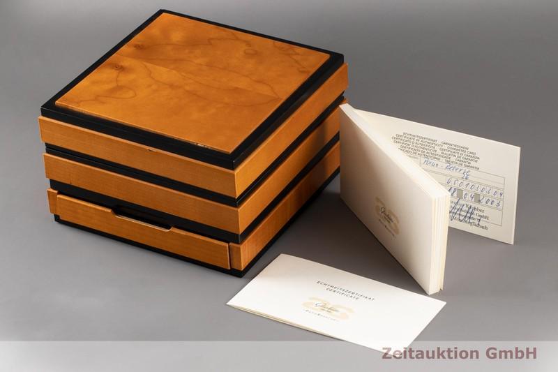 gebrauchte Luxusuhr Glashütte PanoReserve Platin Handaufzug Kal. GUB 65 Ref. 65-01-03-03-04 LIMITED EDITION | 2006609 _0