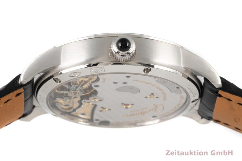 gebrauchte Luxusuhr Glashütte PanoReserve Platin Handaufzug Kal. GUB 65 Ref. 65-01-03-03-04 LIMITED EDITION | 2006609 _1