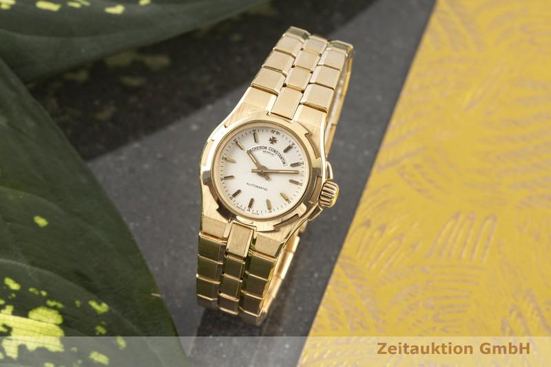 gebrauchte Luxusuhr Vacheron & Constantin Overseas 18k Gold Automatik Kal. 1056 Ref. 12050-16050    2006610 _0