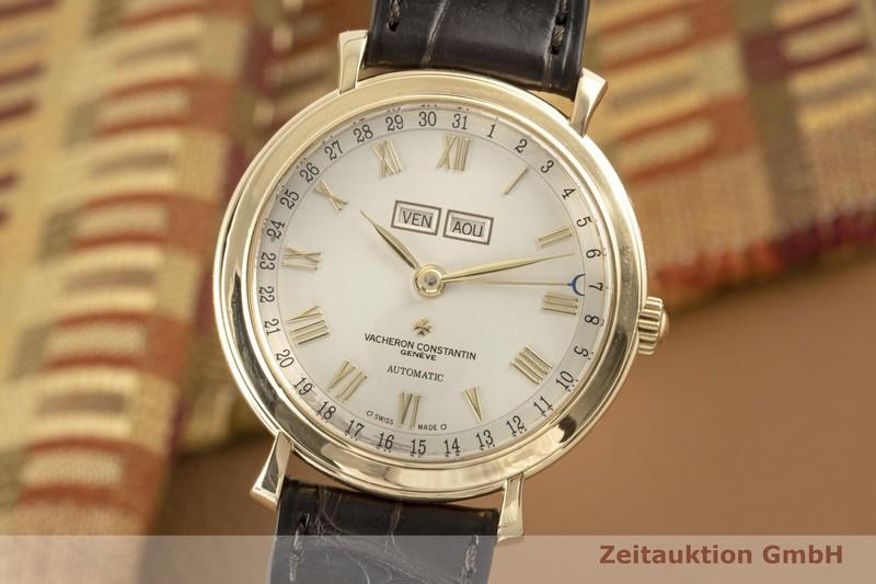 gebrauchte Luxusuhr Vacheron & Constantin Geneve 18k Gold Automatik Kal. 1126 Ref. 47051    2006626 _0