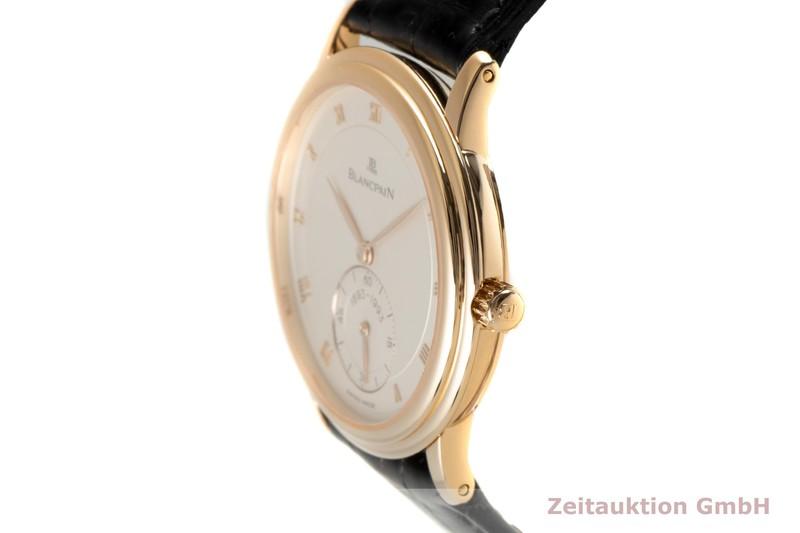 gebrauchte Luxusuhr Blancpain Villeret 18k Gold Handaufzug Kal. 64-1 Ref. 7001-3318-55 LIMITED EDITION   2006629 _0