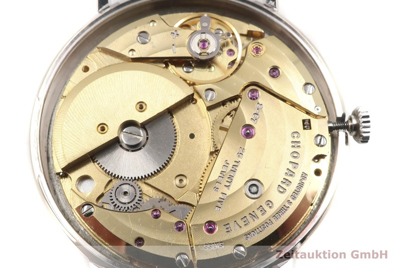 gebrauchte Luxusuhr Chopard Geneve 18k Weissgold Automatik Kal. 2-67 Ref. 1039    2006631 _1