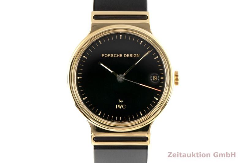 gebrauchte Luxusuhr IWC Porsche Design 18k Gold Quarz Kal. 2250 Ref. 3320  | 2006636 _0