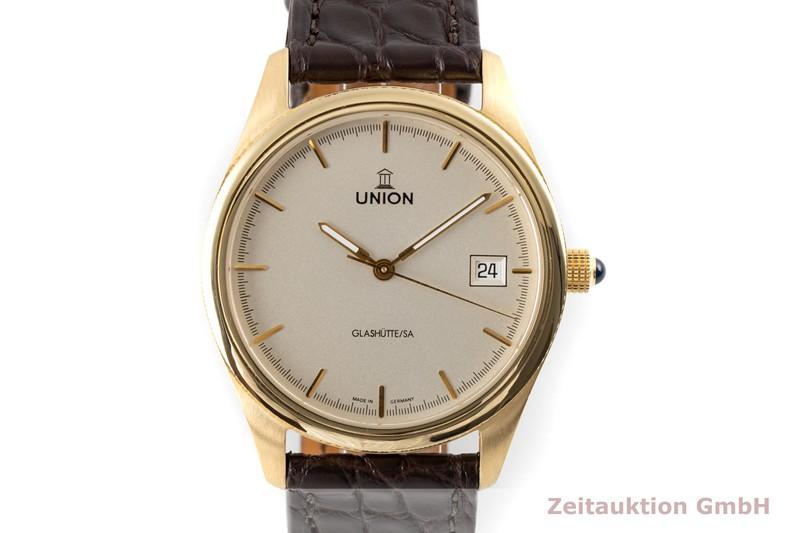 gebrauchte Luxusuhr Union Glashütte * 18k Gold Automatik Kal. 26-11 Ref. 26-11-01-01-0 LIMITED EDITION | 2006644 _0