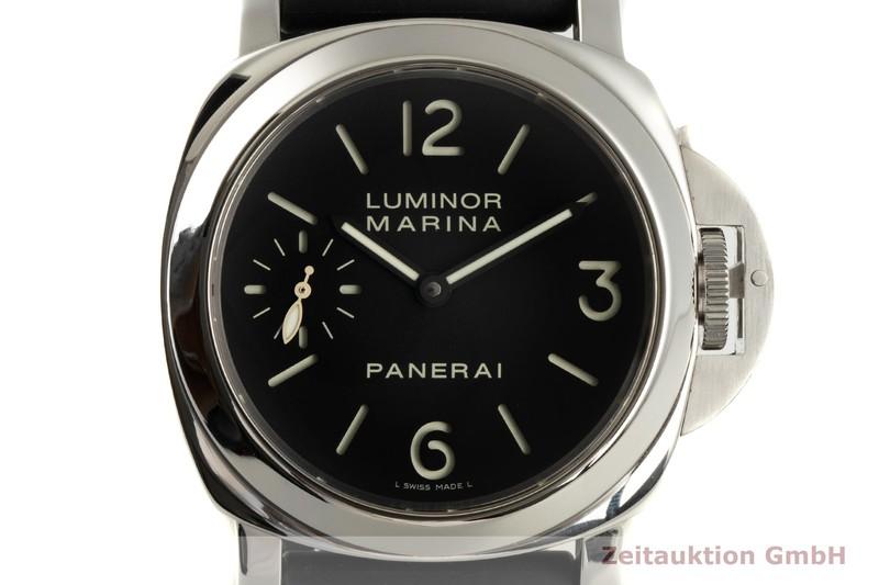 gebrauchte Luxusuhr Panerai Luminor Marina Stahl Handaufzug Ref. PAM111  | 2006662 _0
