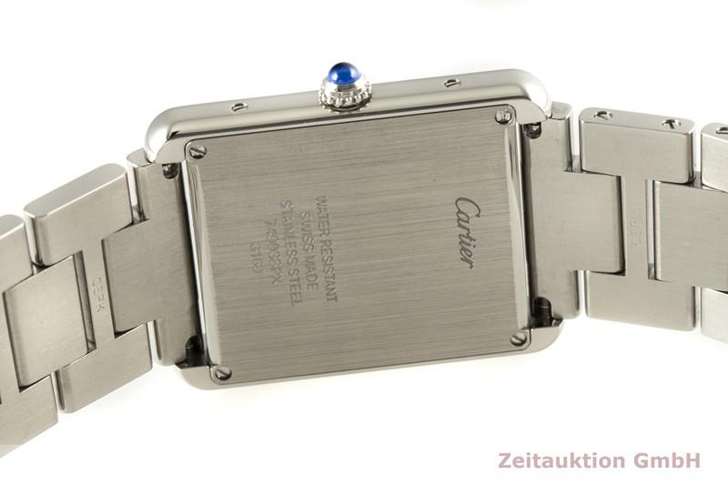 gebrauchte Luxusuhr Cartier Tank Stahl Quarz Kal. 690 Ref. 3169  | 2006680 _1
