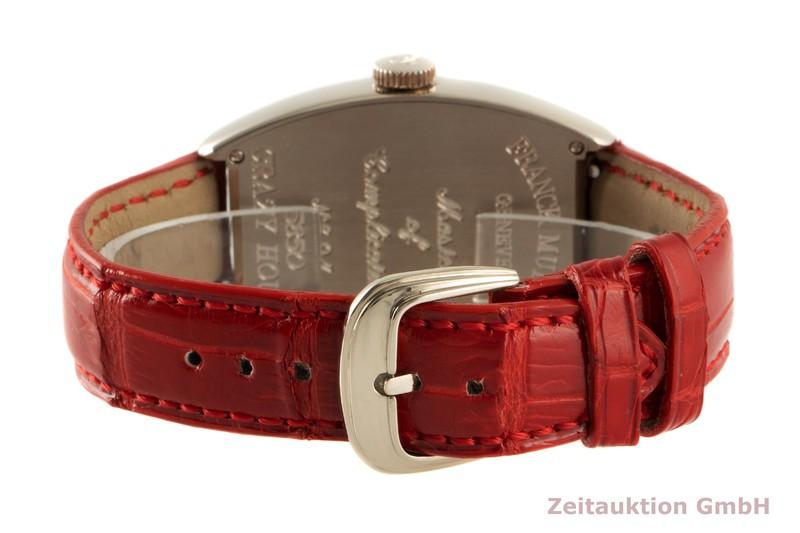 gebrauchte Luxusuhr Franck Muller Crazy Hours 18k Weissgold Automatik Kal. 2800V Ref. 5850    2006681 _1