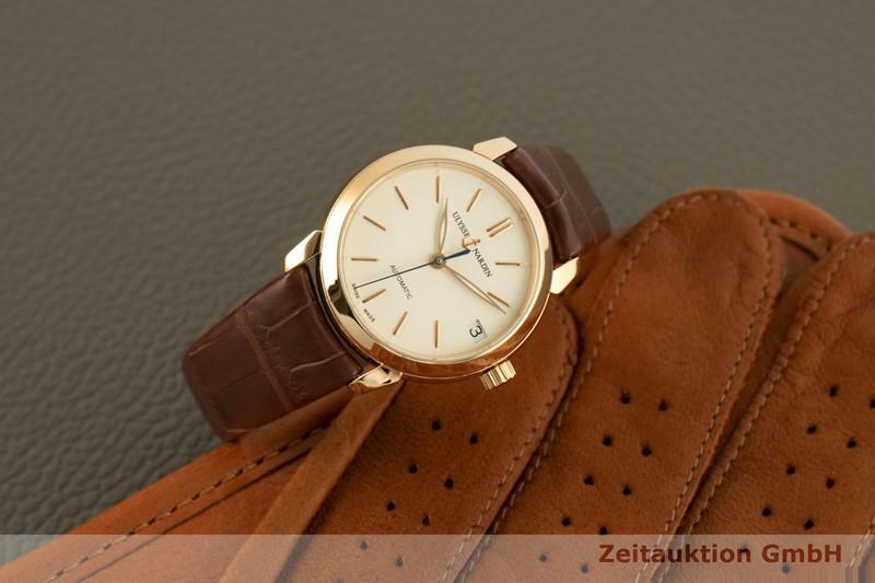 gebrauchte Luxusuhr Ulysse Nardin Classico 18k Gold Automatik Kal. UN013 Ref. 8106-116  | 2006683 _0