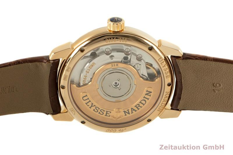 gebrauchte Luxusuhr Ulysse Nardin Classico 18k Gold Automatik Kal. UN013 Ref. 8106-116  | 2006683 _1