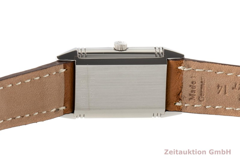 gebrauchte Luxusuhr Jaeger LeCoultre Reverso Stahl Quarz Kal. 602 Ref. 140.025.8  | 2006713 _1