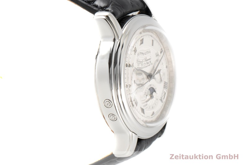 gebrauchte Luxusuhr Zenith El Primero Chronograph Stahl Automatik Kal. 4001 Ref. 03.1240.4001  | 2006723 _0