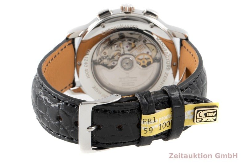 gebrauchte Luxusuhr Zenith El Primero Chronograph Stahl Automatik Kal. 4001 Ref. 03.1240.4001  | 2006723 _1