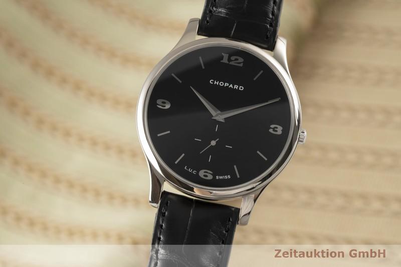 gebrauchte Luxusuhr Chopard L.U.C. 18k Weissgold Automatik Kal. 12.96 Ref. 161920-1001  | 2006724 _0