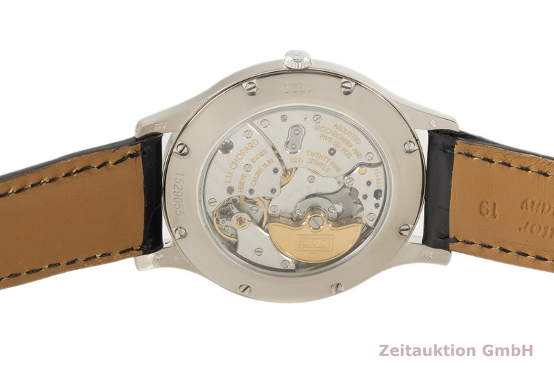 gebrauchte Luxusuhr Chopard L.U.C. 18k Weissgold Automatik Kal. 12.96 Ref. 161920-1001  | 2006724 _1