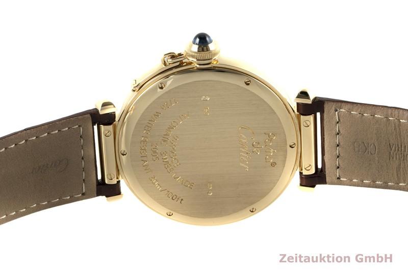 gebrauchte Luxusuhr Cartier Pasha 18k Gold Automatik Kal. 8000MC Ref. 2726    2006728 _1