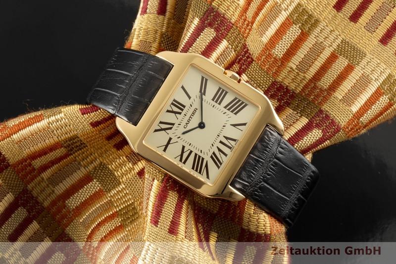 gebrauchte Luxusuhr Cartier Santos Dumont 18k Gold Handaufzug Kal. 430MC Ref. 2649  | 2006729 _0