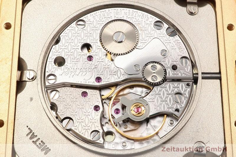 gebrauchte Luxusuhr Cartier Santos Dumont 18k Gold Handaufzug Kal. 430MC Ref. 2649  | 2006729 _1