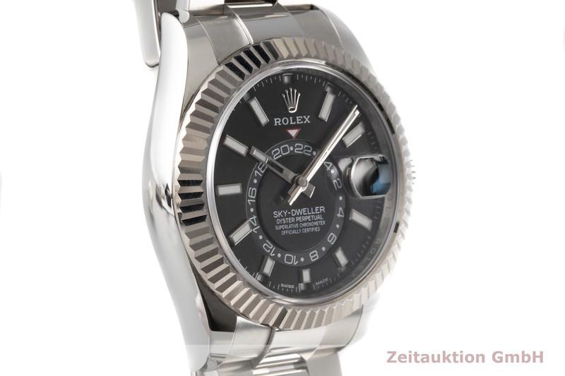 gebrauchte Luxusuhr Rolex Sky-Dweller Stahl / Weissgold Automatik Kal. 9001 Ref. 326934  | 2006733 _1